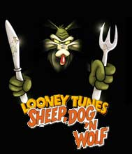 Волк овце не собака looney tunes tm sheep dog n